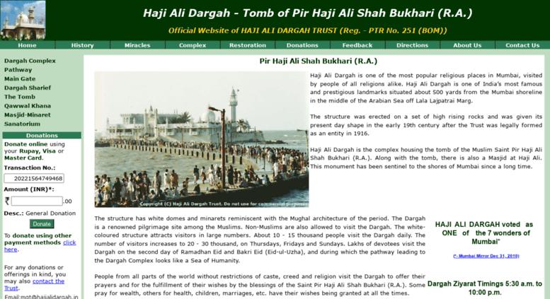 Access hajialidargah in  Haji Ali Dargah, Mumbai (INDIA