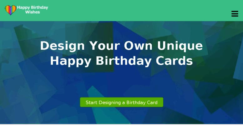 Happy Birthday Wisheseu Screenshot