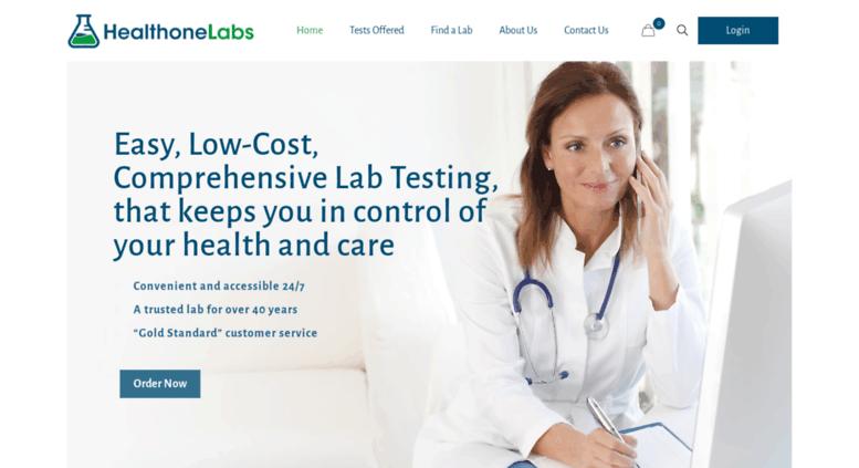 Access healthonelabs com  HealthOneLabs|Online lab tests