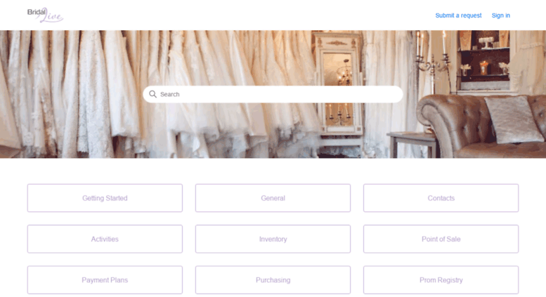 bridal live login