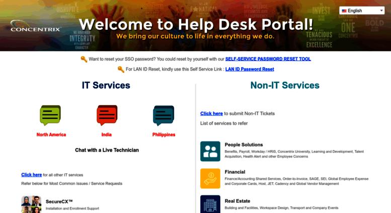 Access helpdesk concentrix com  Help Desk
