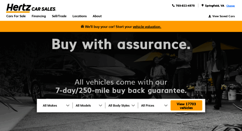 Access Hertzcarsales Com Hertz Car Sales A Better Way To Buy Used