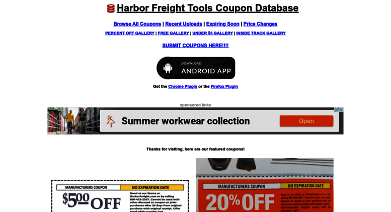 Access Hfqpdb Com Harbor Freight Tools Coupon Database Free
