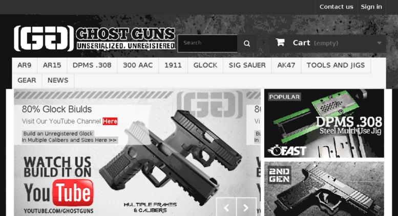 Access hhtactical com  Ghost Guns