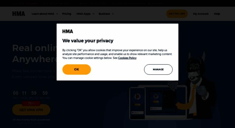 Access hidemyass com  HMA! VPN Service | Unblock Websites with Hide
