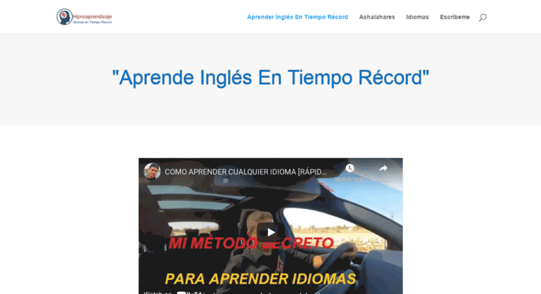 hipnopedia ingles