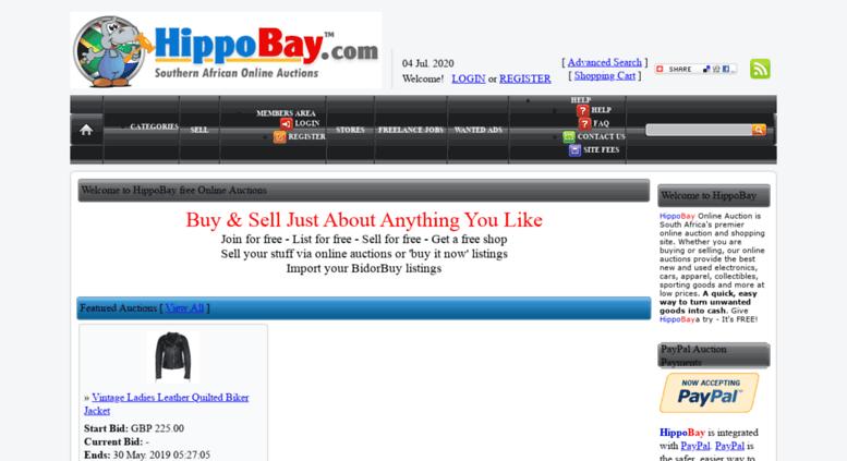 Access hippobay com