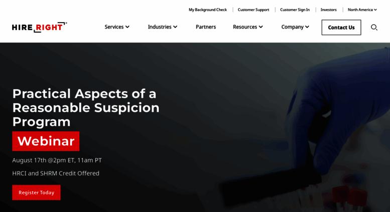 Access hireright com  Employment Background Checks