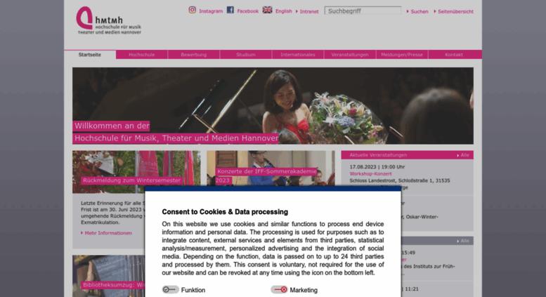 Hochschule für musik theater und medien hannover
