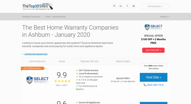 Home Warranty Companies >> Access Home Warranty Thetop10sites Com The Best Home