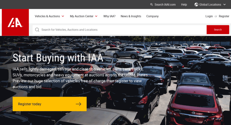 Access Home Iaai Com Salvage Cars For Sale Iaa Insurance Auto
