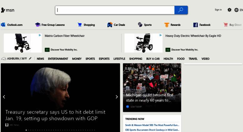 Access homepage.msn.ie. MSN | Outlook, Office, Skype, Bing, Breaking ...