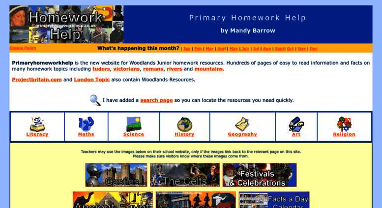 Primary homework help by mandy barrow
