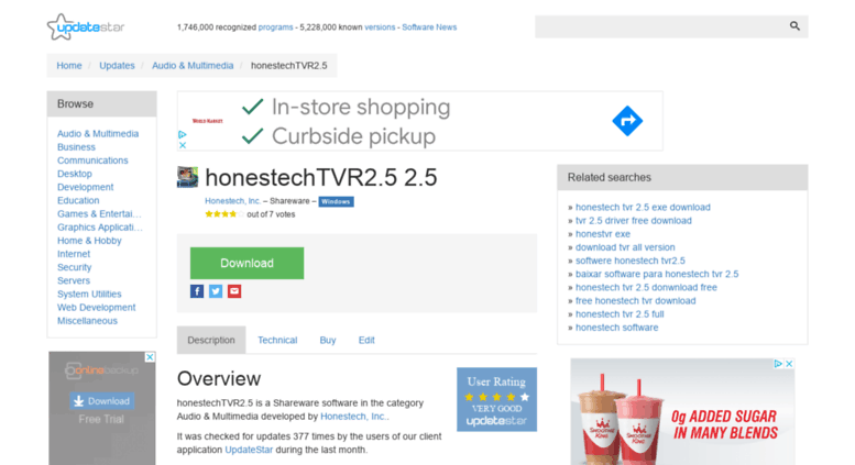honestech tvr 25 free download full version