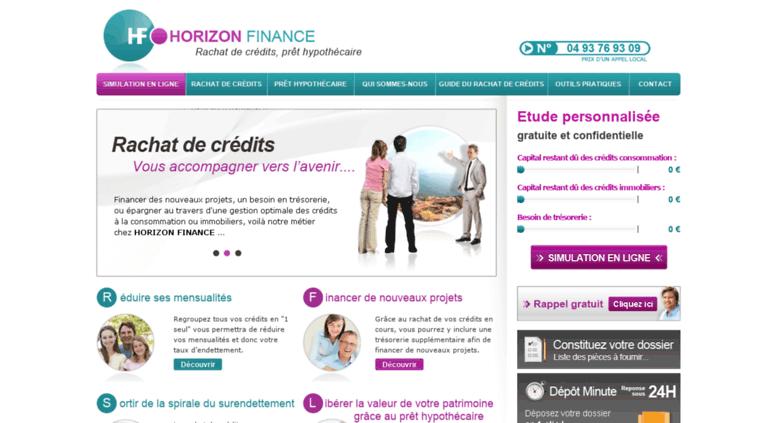 bb2b066ec48b Access horizonfinance-credits.fr. Rachat de credit