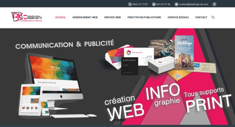 Access Hostbknet Bk Design Agence De Communication Et De Publicité