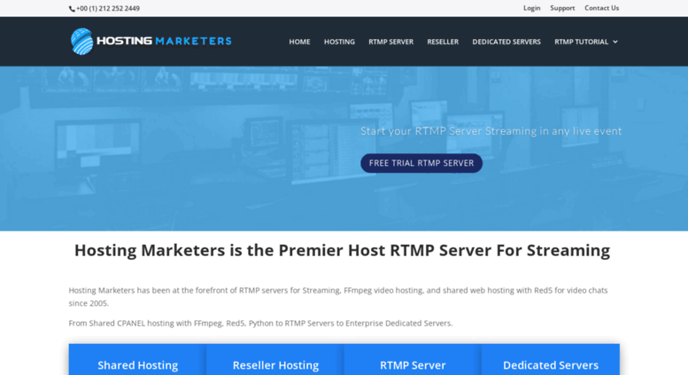 Access hostingmarketers com  RTMP Hosting With Red5 Media and Wowza