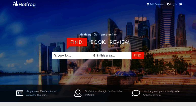 Access hotfrog sg  Hotfrog Singapore - Free online business directory