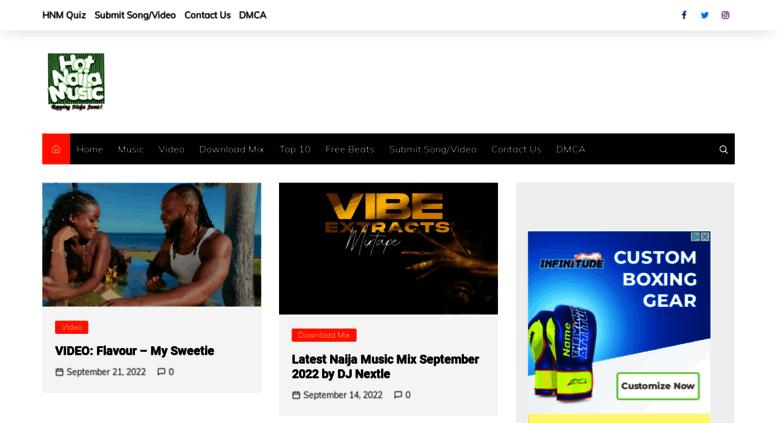 Access hotnaijamusic com  HotNaijaMusic | Download Nigerian Music