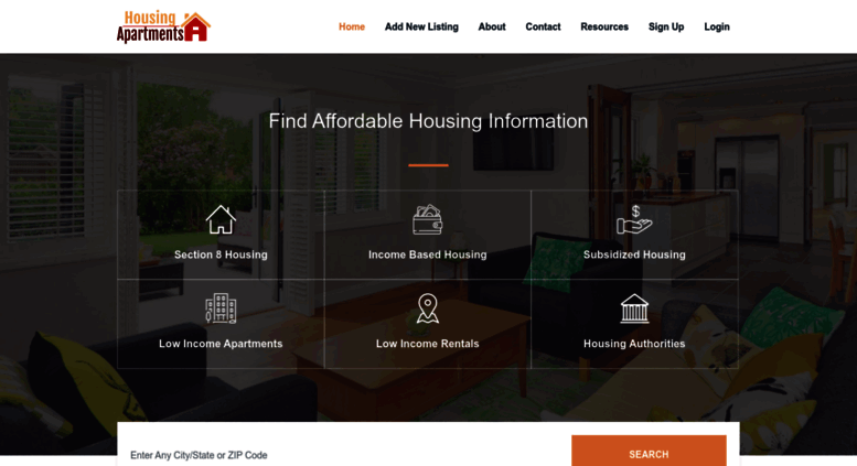Access housingapartments org  Low Income Housing | Affordable
