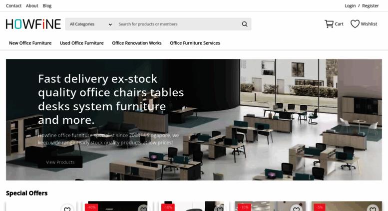 Access howfine com sg  HOWFINE | Office Furniture Singapore