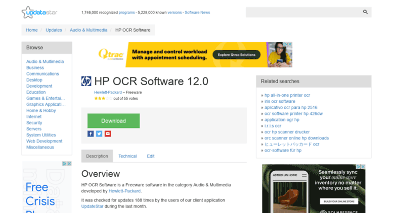 Download hp scanner software.
