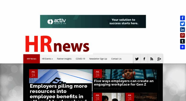 Access hrnews co uk  HR News - HR News stories from the UK