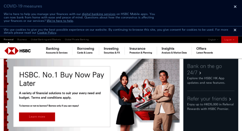 Access hsbc com hk  HSBC Hong Kong - Credit Cards, Mortgage