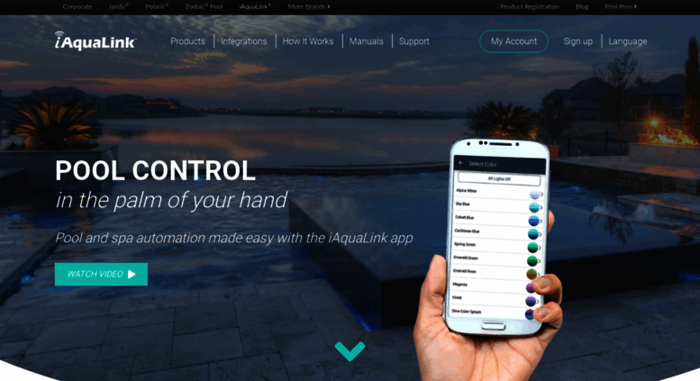 Access iaqualink.com. iAquaLink Pool Automation   Swimming ...