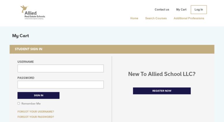 iboard.alliedschools.com screenshot