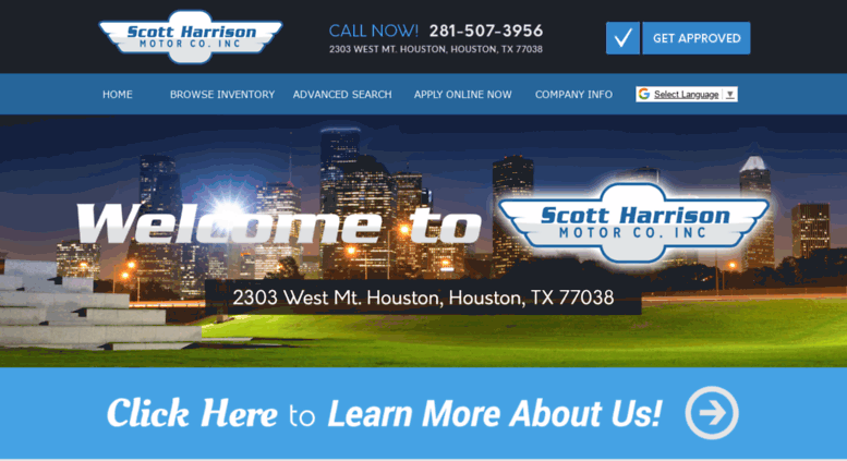 Buy Here Pay Here Houston Tx >> Access Ibuycars Org Scott Harrison Motor Co Inc Used