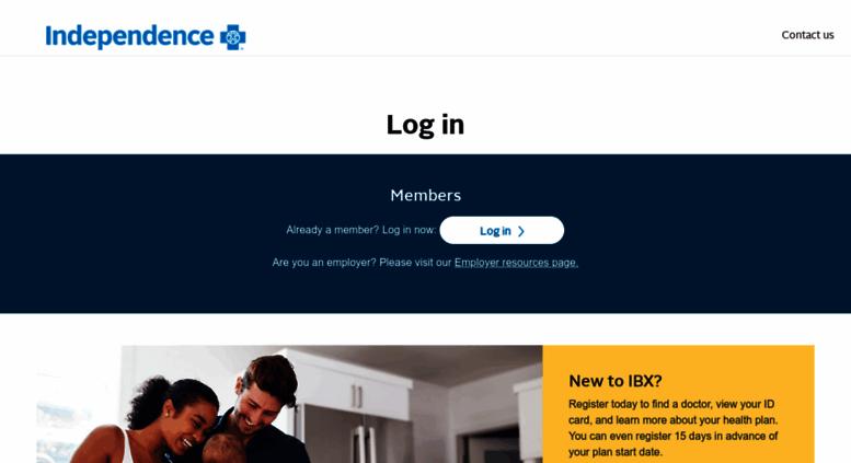 Access ibxpress com  ibxpress com Login Page | Independence Blue Cross
