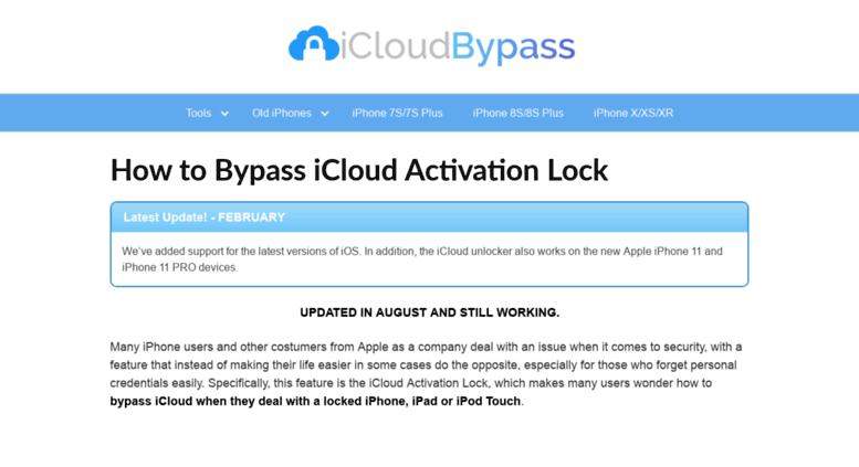 Access icloudbypass org  ▷ How to Bypass iCloud Activation