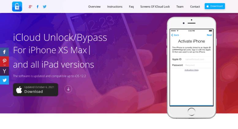 Access icloudunlock org  Unlock iCloud Software - Bypass iCloud