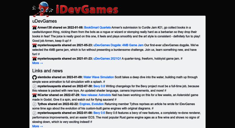 Access idevgames com  iDevGames