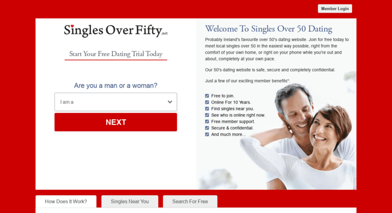 fifty dating login