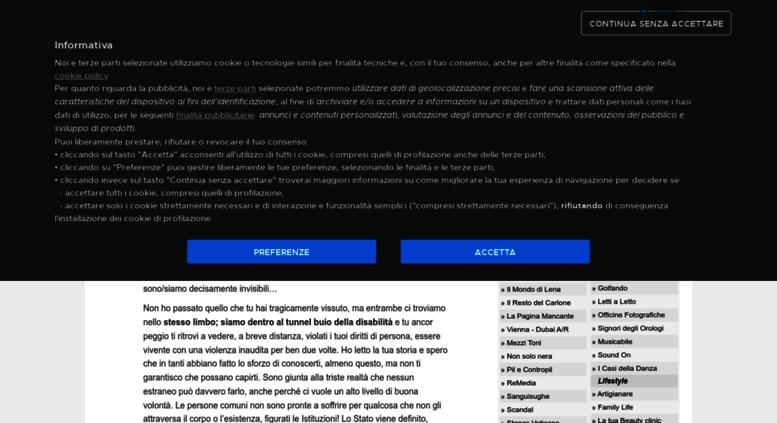 Access Ilmondodilenatgcom24it Blog Il Mondo Dei Disabili Di