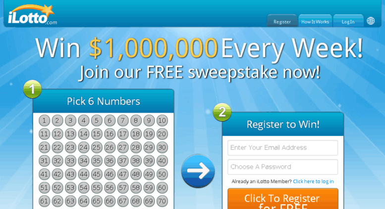 Free Online Lottery Worldwide
