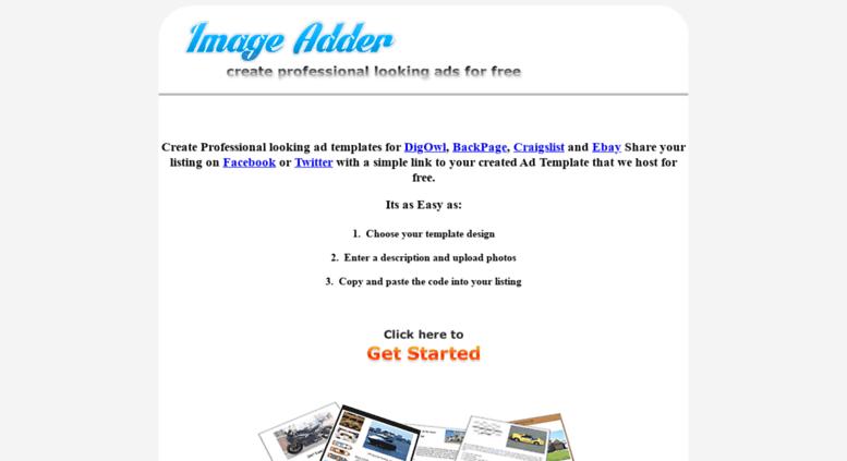 Access Imageadder Com Free Craigslist Ad Template Creator