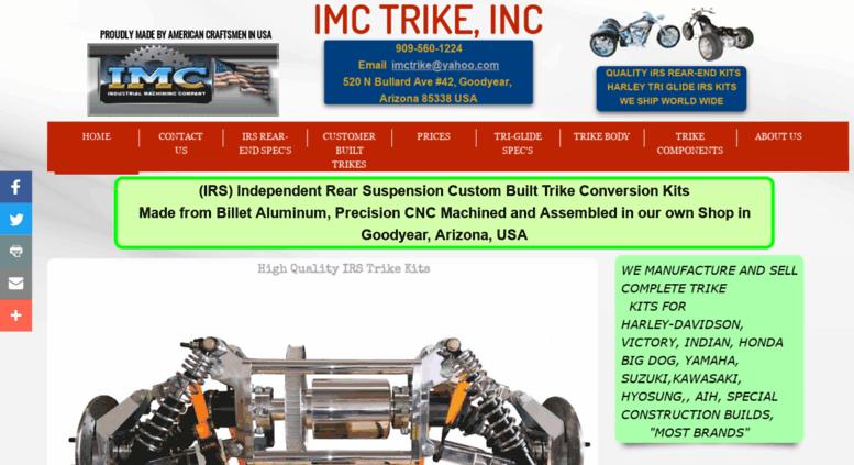 Access imctrike com  Trike Kits For Harley-davidson Trike