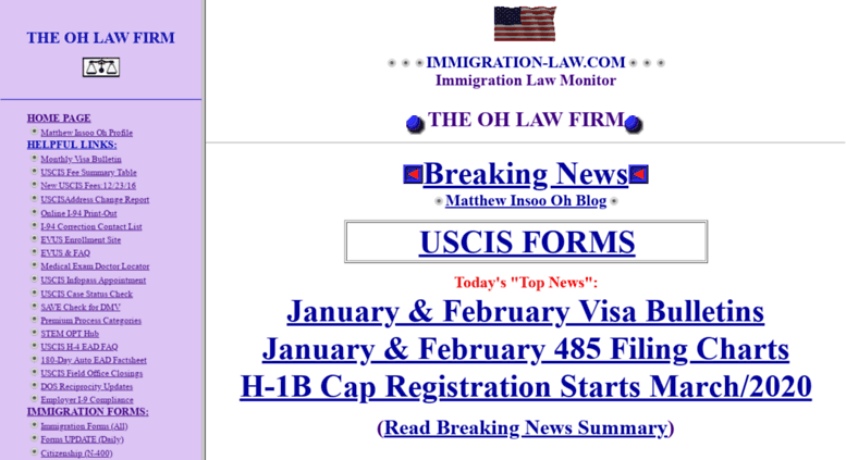 Oh Law Firm >> Access Immigration Law Com The Oh Law Firm