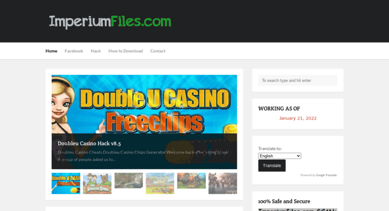 Access imperiumfiles com  ImperiumFiles : Hack Cheats Game - Latest