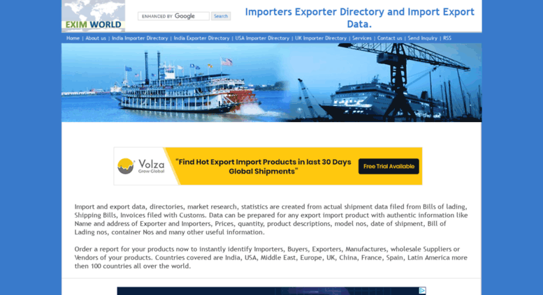 Access importers-directory net  Importers Exporter Directory, Import