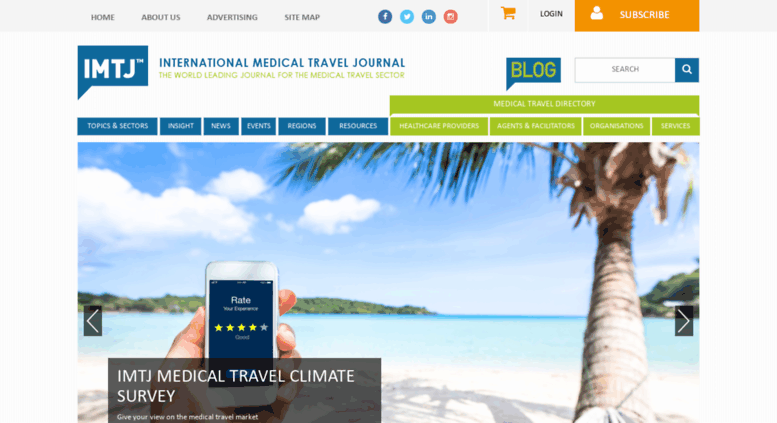 access imtjonline com international medical travel journal (imtjimtjonline com screenshot