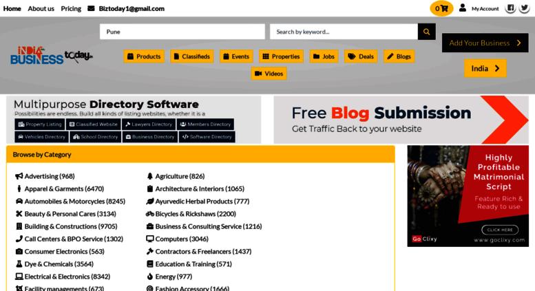 Access indiabusinesstoday in  India's Online B2B Market