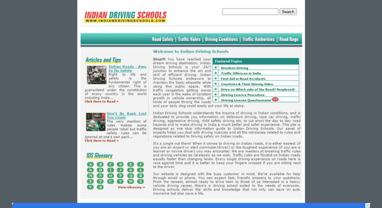 Access indiandrivingschools com  Indian Traffic Rules – Road Safety