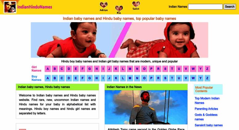 Access Indianhindunames Com Indian Baby Names Hindu Baby Names
