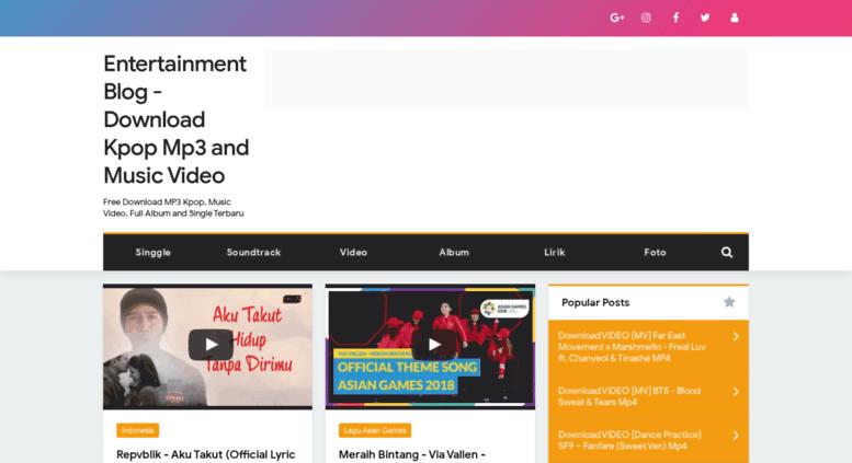 Access infozzz blogspot com  Entertainment Blog - Download Kpop Mp3