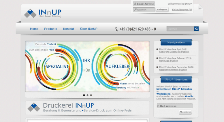 Access Innupde Flyer Und Aufkleber Drucken Innup Next