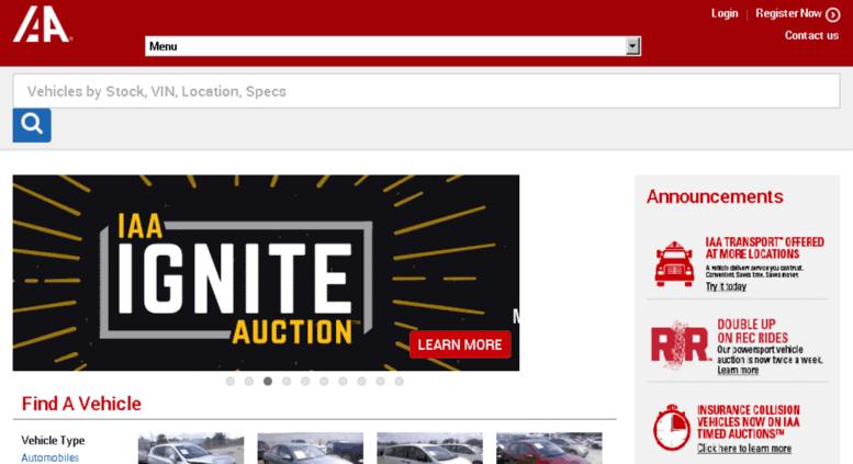 Access Insideiaa.iaai.com. Salvage Cars For Sale
